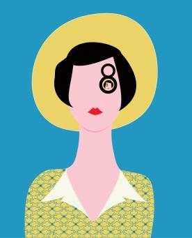 Vivian Maier portrait